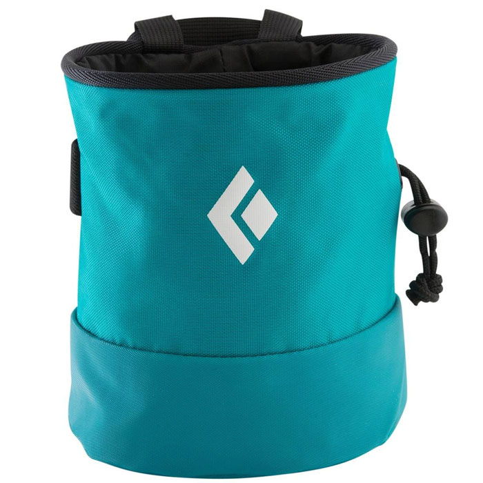 vrecko BLACK DIAMOND Mojo Zip Chalk Bag Bright Teal S-M