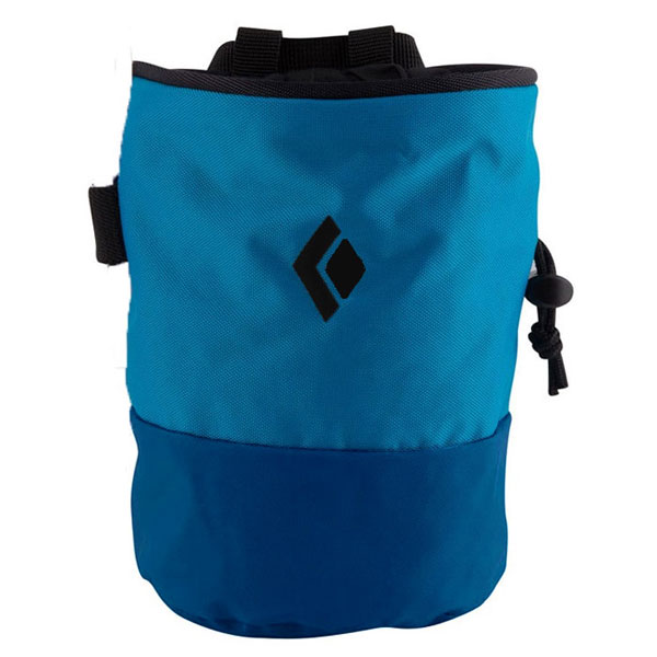 vrecko BLACK DIAMOND Mojo Zip Chalk Bag Ultra Blue M-L