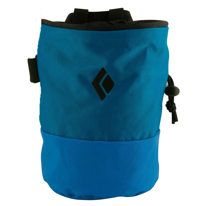 vrecko BLACK DIAMOND Mojo Zip Chalk Bag Ultra Blue S-M