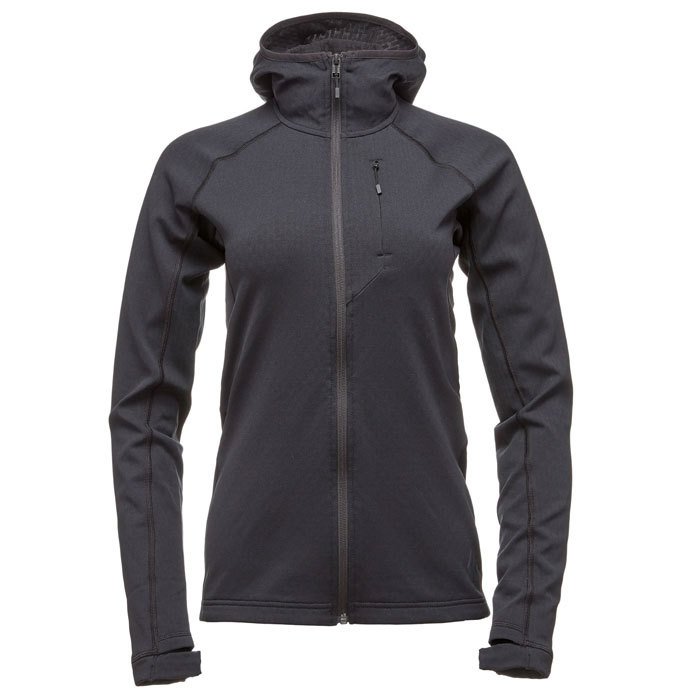 polartec BLACK DIAMOND W Coefficient Hoody Black
