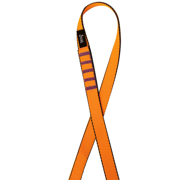 slučka BEAL Flat Sling 18mm 120cm Orange