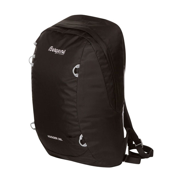 batoh BERGANS Hugger 30 L Black/Solid Light Grey