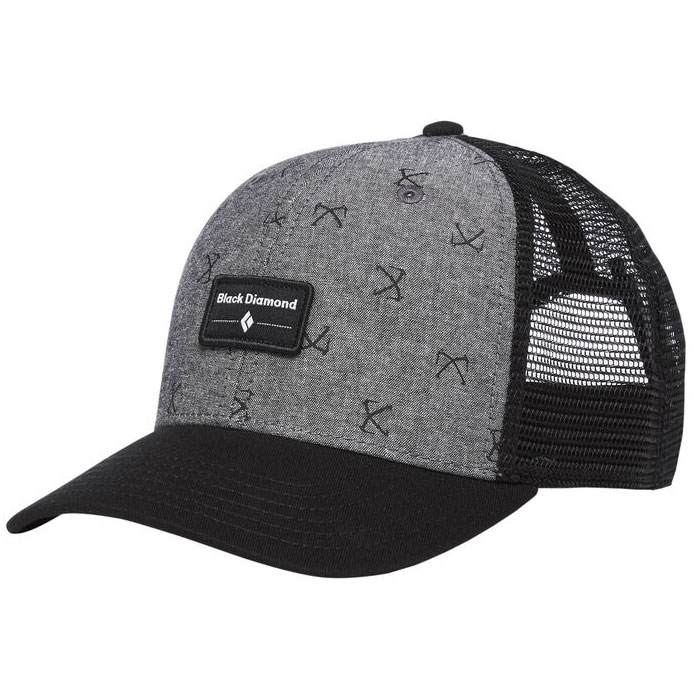 šiltovka BLACK DIAMOND BD Trucker Hat Chambray/Black
