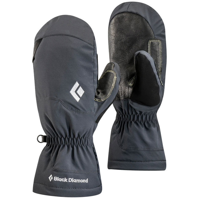 palčiaky BLACK DIAMOND Glissade Mitts L Black
