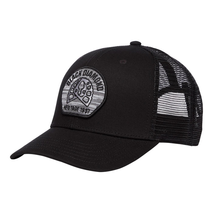 šiltovka BLACK DIAMOND BD Trucker Hat Aluminum Knit/Black