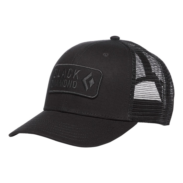 šiltovka BLACK DIAMOND BD Trucker Hat Black/Black