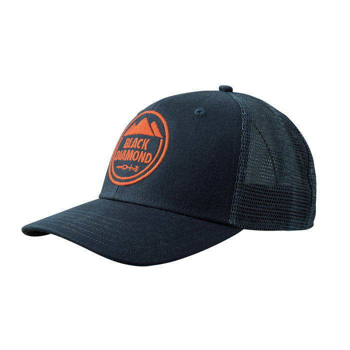 šiltovka BLACK DIAMOND BD Trucker Hat Captain/Redwood