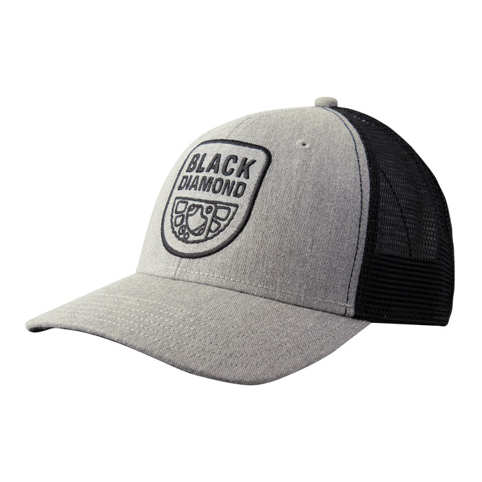 šiltovka BLACK DIAMOND BD Trucker Hat Heathered Aluminum/Black