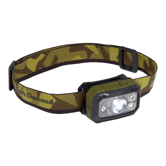čelovka BLACK DIAMOND Storm 375 lumens Dark Olive