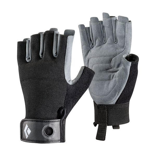 rukavice BLACK DIAMOND Crag Half-Finger M Black