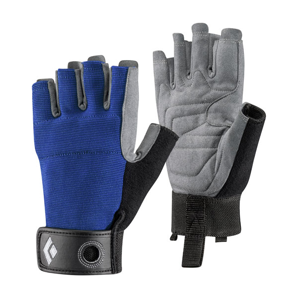 rukavice BLACK DIAMOND Crag Half-Finger M Cobalt