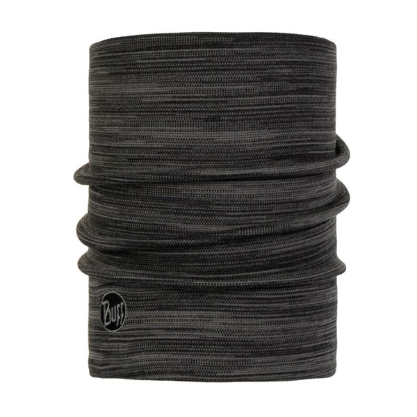 šatka BUFF Heavyweight Merino Wool Castlerock Grey Multi