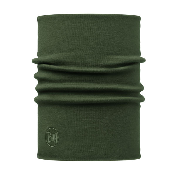 šatka BUFF Heavyweight Merino Wool Solid Forest Night