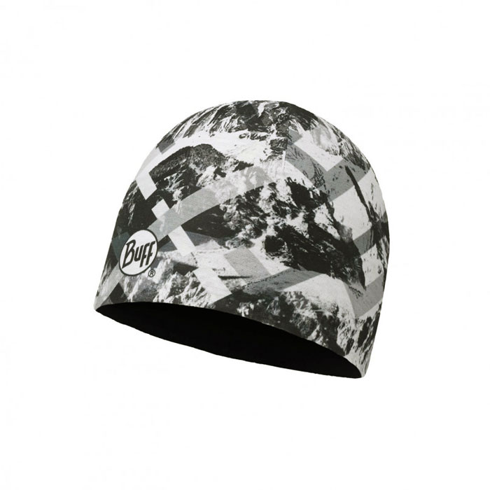 čiapka BUFF Hat Microfiber Reversible MountainTop Grey-Black