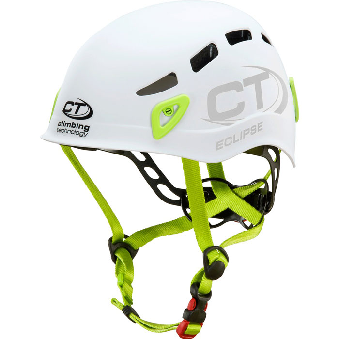 prilba CLIMBING TECHNOLOGY Eclipse White/Green 48-56cm