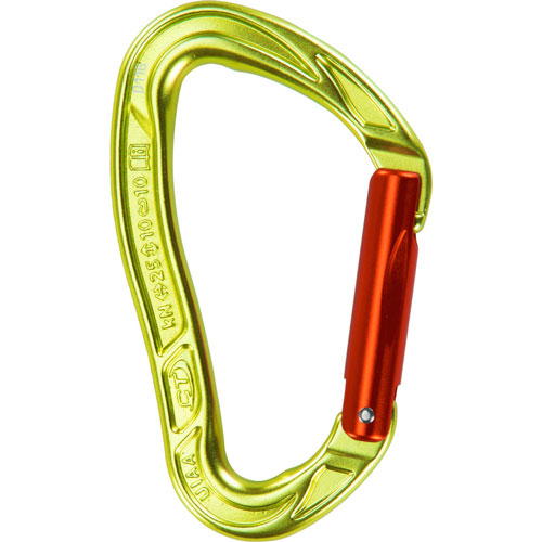 karabína CLIMBING TECHNOLOGY Nimble EVO S Green/Orange