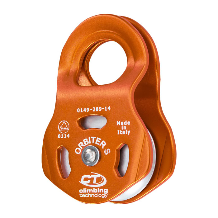 kladka CLIMBING TECHNOLOGY Orbiter S Orange