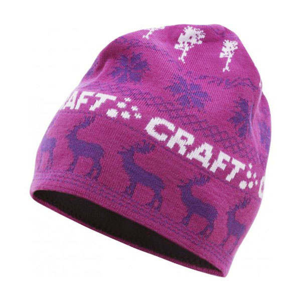 čiapka CRAFT Inge Hat L/XL (58cm) Orchid