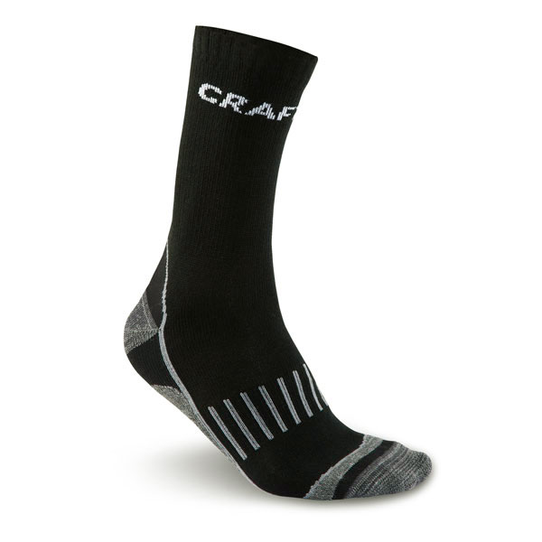 ponožky CRAFT Warm Training Sock 2pack Black EU 40-42