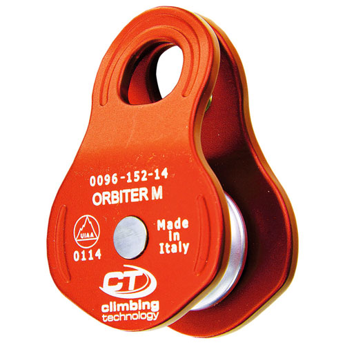 kladka CLIMBING TECHNOLOGY Orbiter M Orange