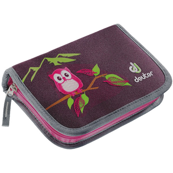 pera�n�k DEUTER Pencil Box Aubergine Magenta