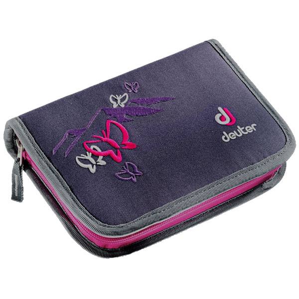 pera�n�k DEUTER Pencil Box BlueBerry ButterFly
