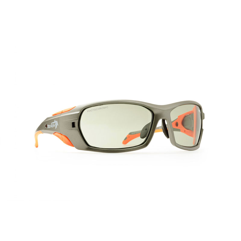 okuliare DEMON MasterPiece Photochromic Matt Grey Orange