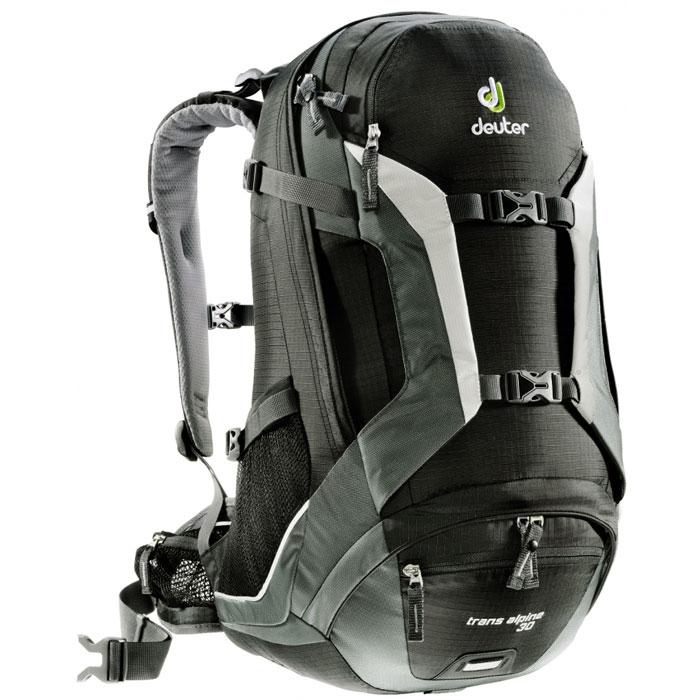 batoh DEUTER Trans Alpine 30 Black-Granite