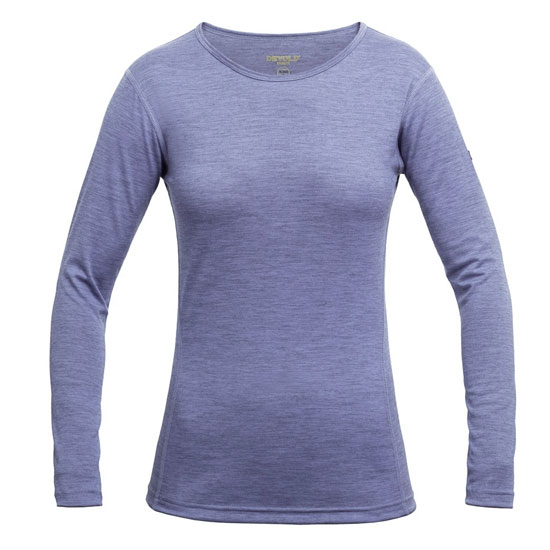 tričko DEVOLD Breeze Woman Shirt Bluebell Melange