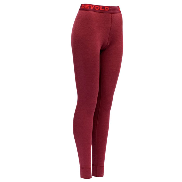spodky DEVOLD Expedition Woman Long Johns Beetroot