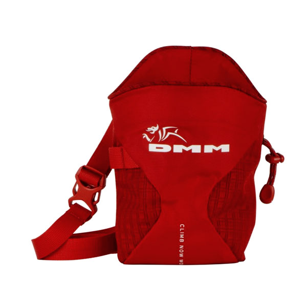 vrecko na magn�zium DMM Traction Chalk Bag Red