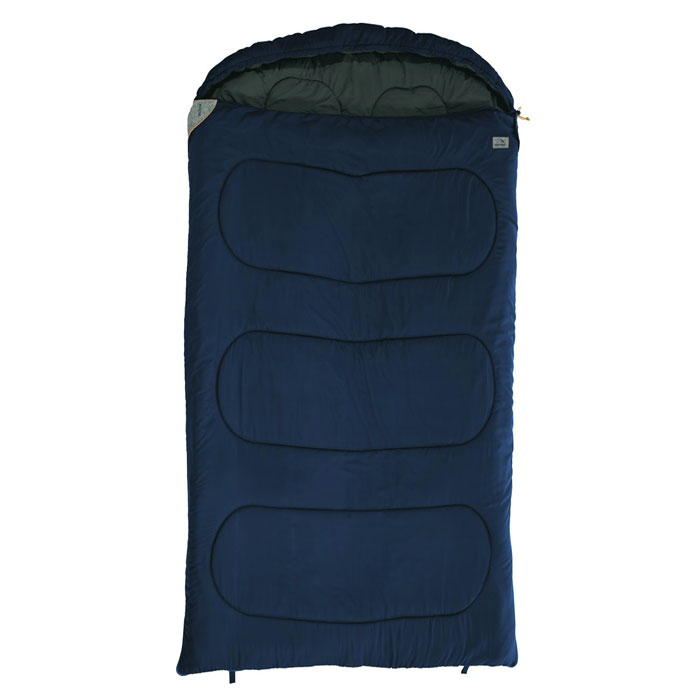 spací vak EASY CAMP Moon Double Blue 195 L