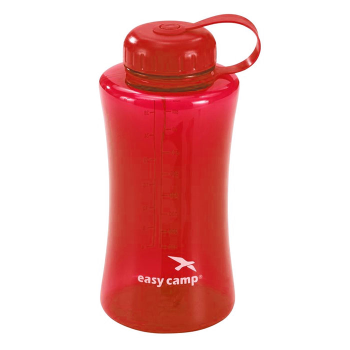 f�a�a EASY CAMP Bottle 1 L Transparent Red