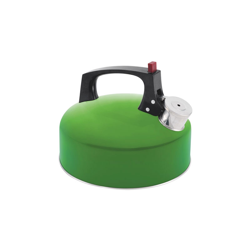 čajník EASY CAMP Whistle Kettle 2.0 L Green