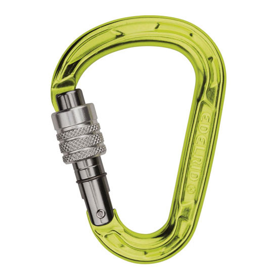 karabína EDELRID HMS Strike Screw Oasis