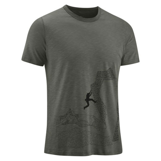 tričko EDELRID Me Highball T-Shirt IV Black Forest