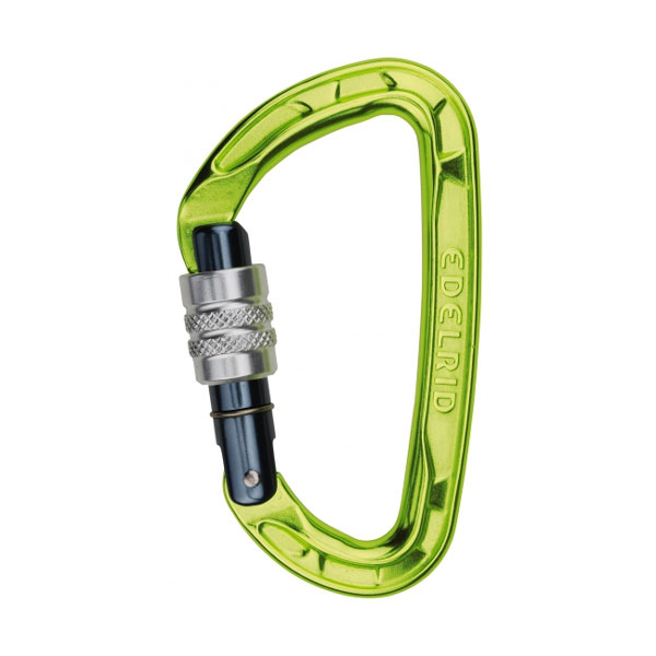 karabína EDELRID Pure Screw Oasis