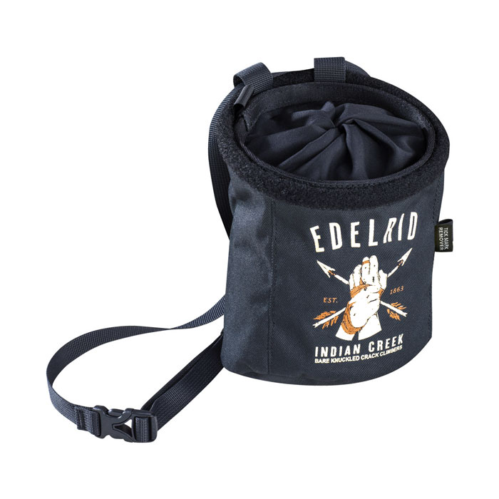 vrecko na magnézium EDELRID Chalk Bag Rocket Twist Night
