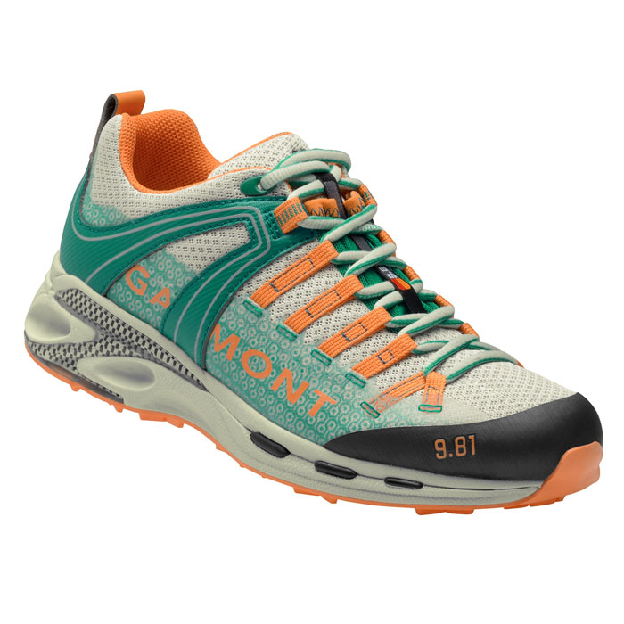 obuv GARMONT 9.81 Speed III Wms Light Grey/Teal Green