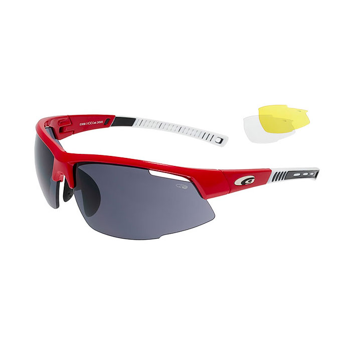 okuliare GOGGLE Falcon Race Red