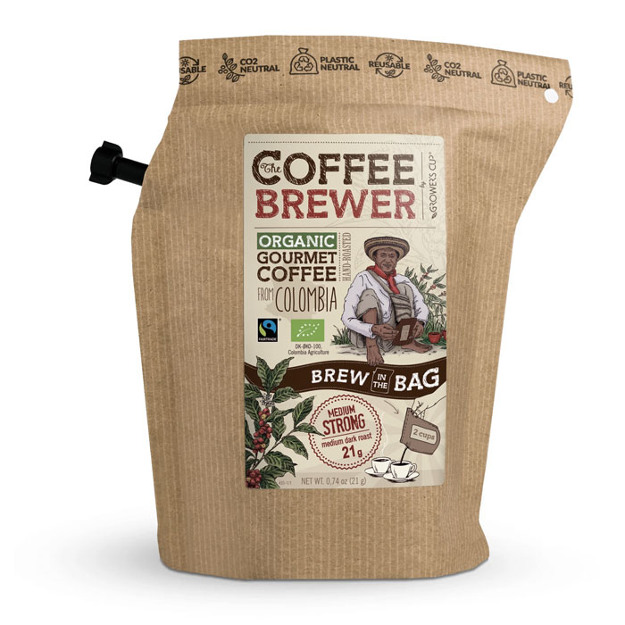 káva GROWER´S CUP Colombia 21g