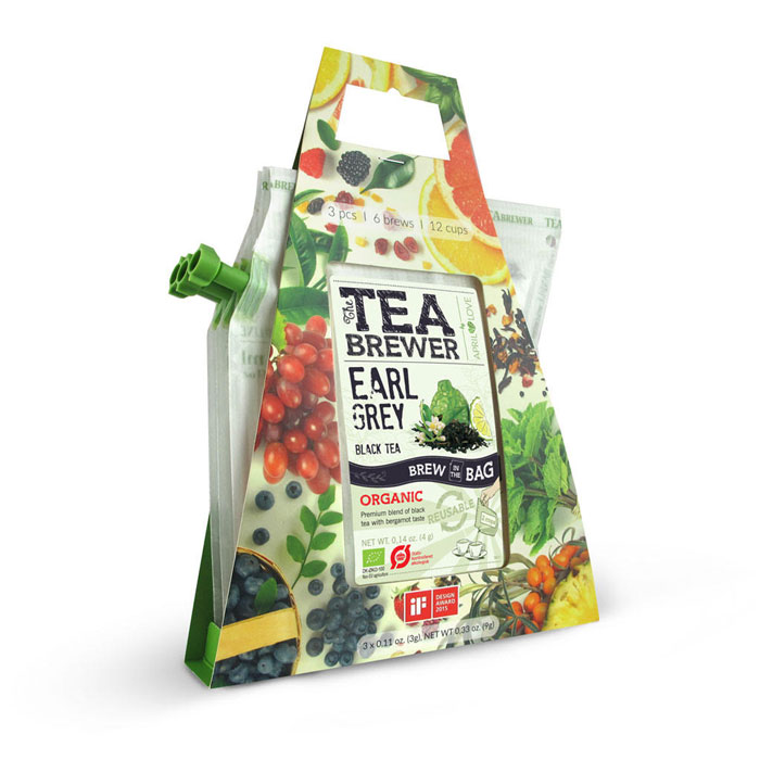 čaj GROWER´S CUP Organic Tea 3-pack