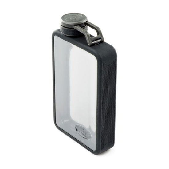 ploskačka GSI Outdoors Boulder Flask 295ml Graphite