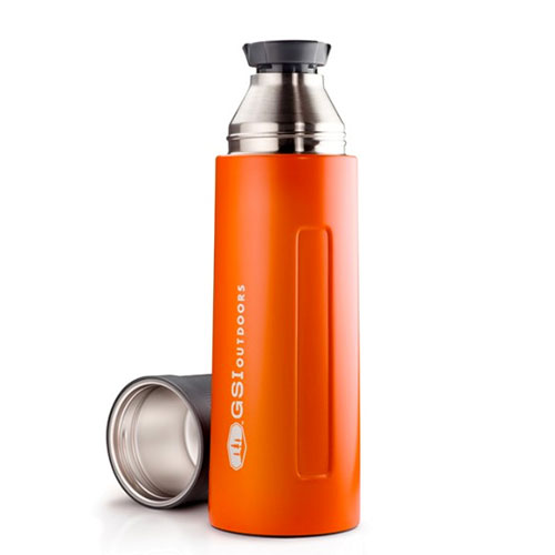 termoska GSI Glacier Stainless 1 L Vacuum Bottle Orange