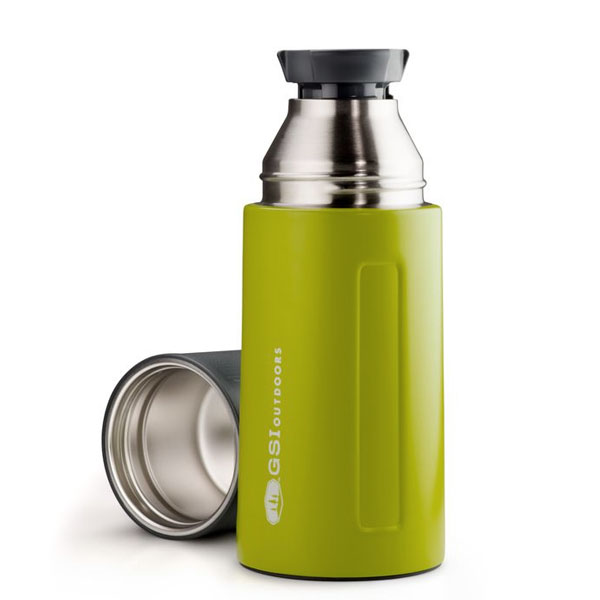 termoska GSI Glacier Stainless 0.5 L Vacuum Bottle Green