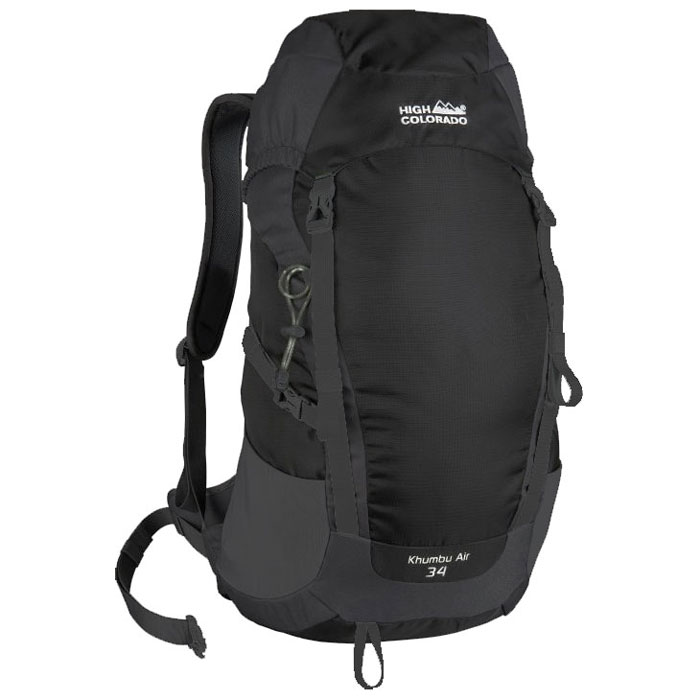 batoh HIGH COLORADO Khumbu Air 34 Black/Dark Grey