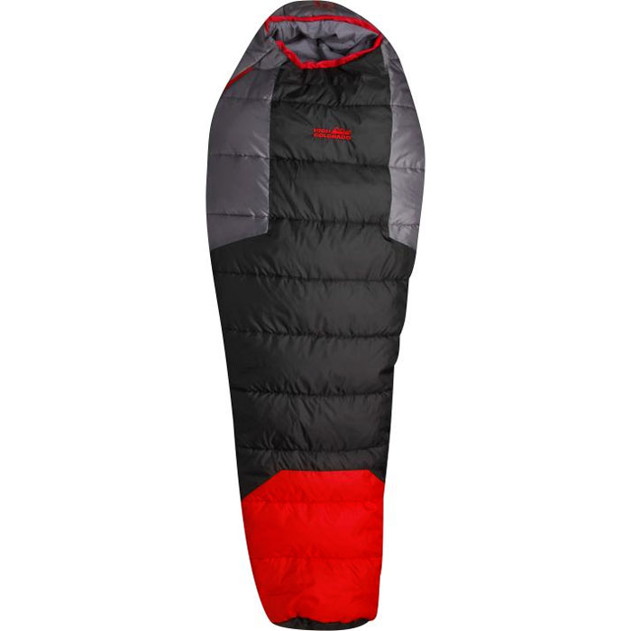 spac�k HIGH COLORADO Sherpa Red/Black/Grey Right Zip