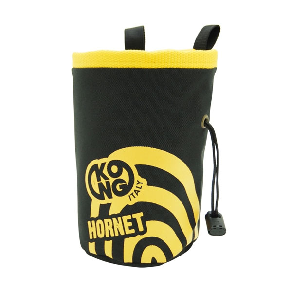 vrecko na magnézium KONG Chalk Bag Hornet Black/Yellow