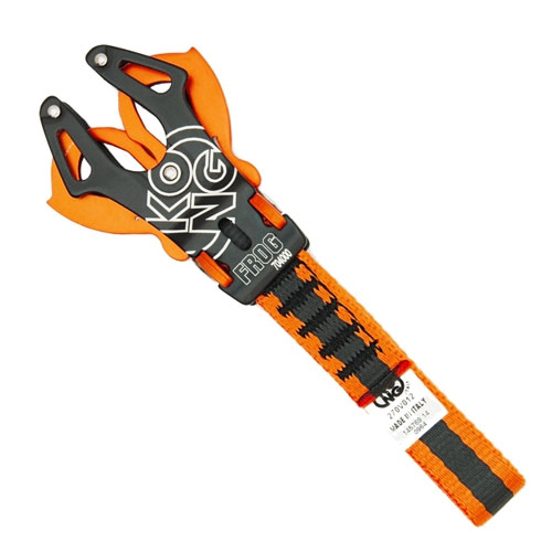 konektor KONG Frog Black/Orange