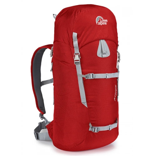 batoh LOWE ALPINE Attack Lite 40 Pepper Red/Gunmetal